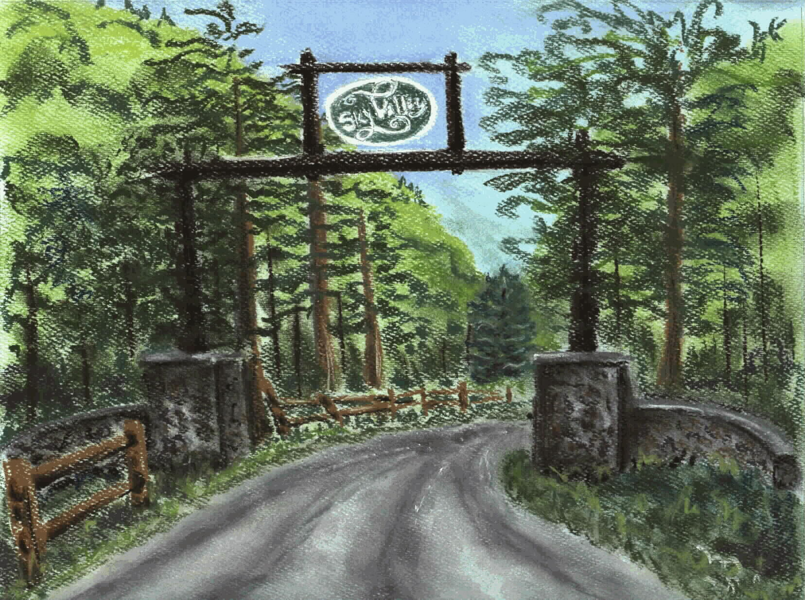 Sky Valley Gate